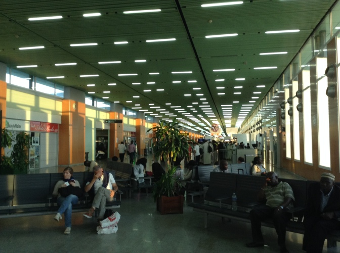 Der Flughafen – ein Ort der Besinnung?