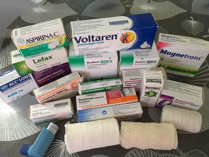 Bitte lasst eure Medikamente nicht in der Schublade vergammeln!
