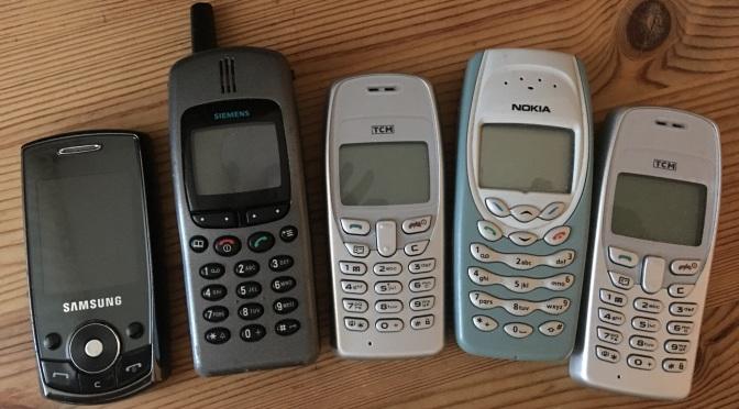 Die Schubladen-Handys