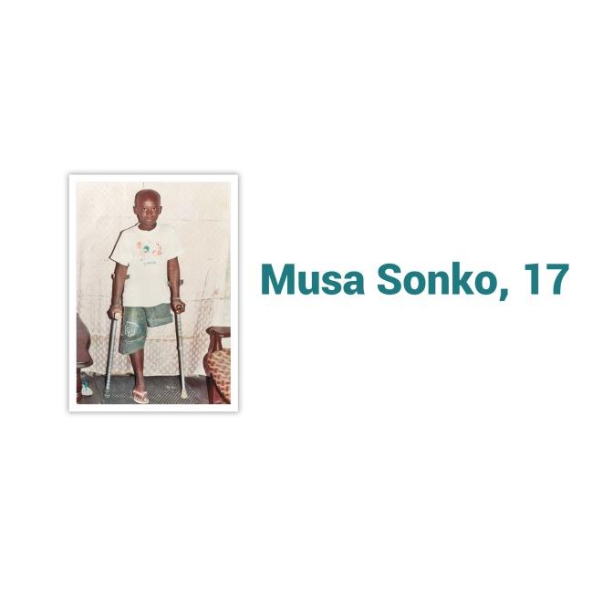 Musa braucht ein neues Bein