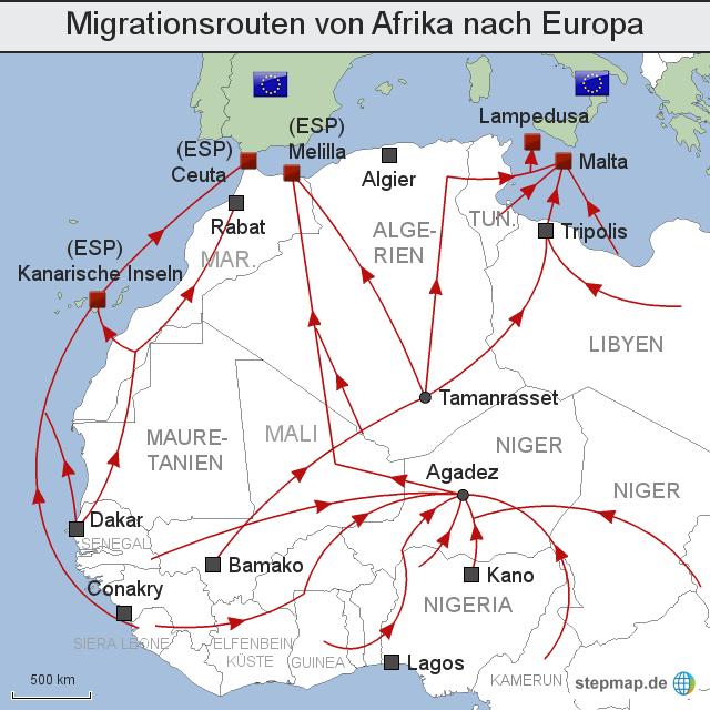 10 Gründe warum Gambier unbedingt nach Europa wollen