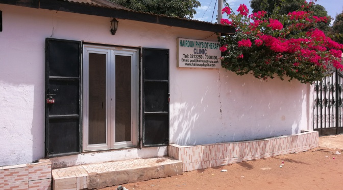 Physiotherapie in Gambia