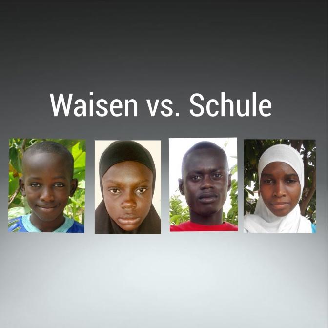 Waisen vs. Schule oder der Ausbildungsfonds